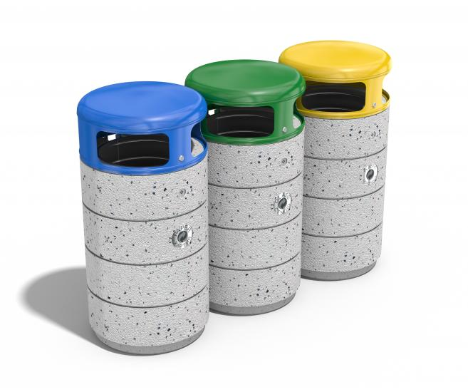 RECYCLING LITTER BIN
