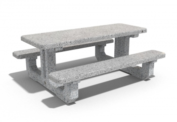 CONCRETE PICNIC TABLE