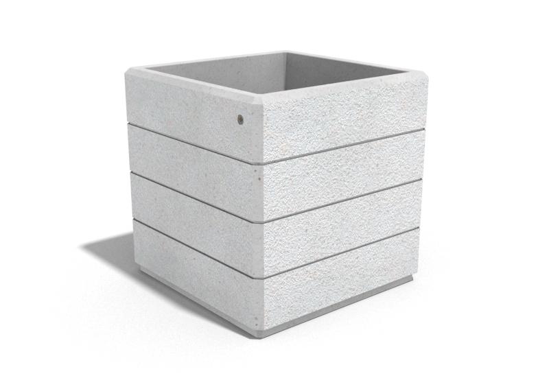 Pflanzkübel aus Beton - Modell 73