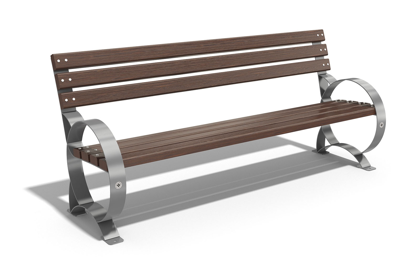 Swell Park Bench With Steel Frame Model 48 Gmtry Best Dining Table And Chair Ideas Images Gmtryco