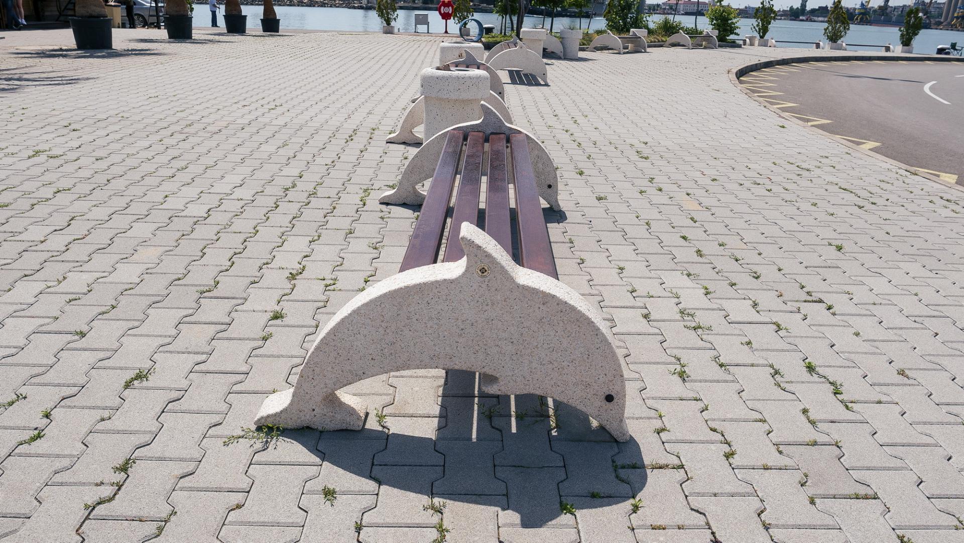 бетон дельфин