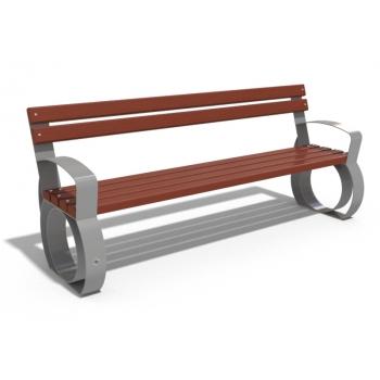Metal oturma bankı