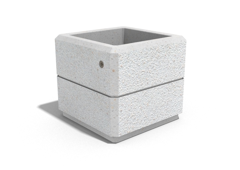 Pflanzkübel aus Beton - Modell 82