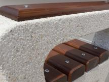 Close-up Model ETE 109 - CONCRETE BENCH