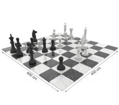 Giant outdoor chess board