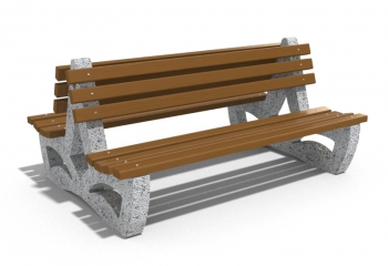 DOUBLE SIDED BENCH