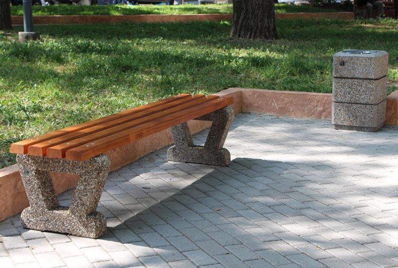 Concrete Bench Model 110