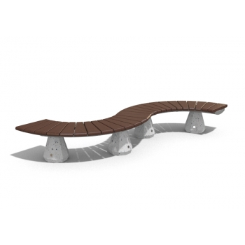 CONCRETE MODULAR BENCH