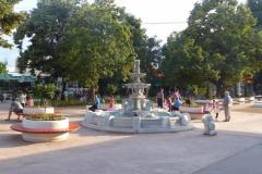 Нови саксии превръщат ул.  Търговска в Стамболийски в цветна градина