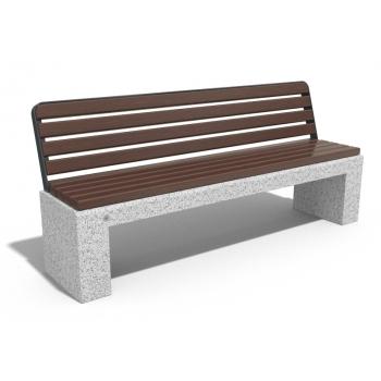 Beton oturma bankı