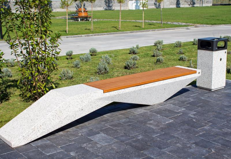 CONCRETE BENCH