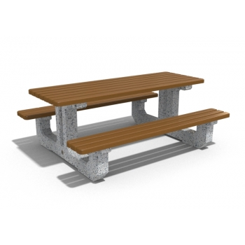 Beton piknik masası