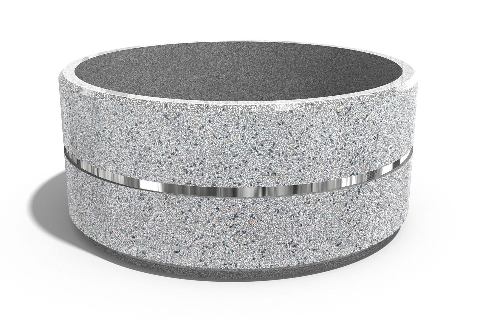 pflanzkübel aus beton - modell 95