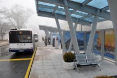 Busbahnhof Süd ist die neue Anlage in einem modernen europäischen Burgas