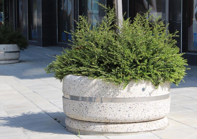 Pflanzkübel aus Beton - Modell 21