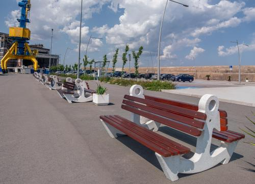 The new Marinе Station at the port of Burgas