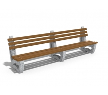 DOUBLE LENGTH BENCH