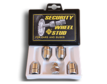 WHEEL LUG NUTS AND BOLTS FOR MOTOR VEHICLES